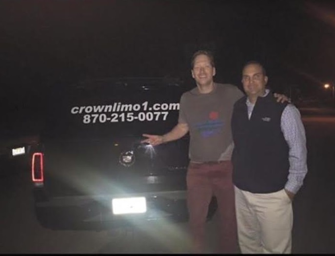 [Image: Crown Limo had a great time taking care of Barrett Baber (a musical contestant on the Voice on NBC). Contact Crown Limousine to book your corporate event. ]