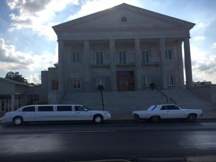 [Image: Crown Limousine was honored to provide transportation for the Newlyweds 1st United Methodist Church in Jonesboro, Arkansas. To Reserve Your Next Memory In Motion , Call (870)215-0077 or (870)930-0517!!!]