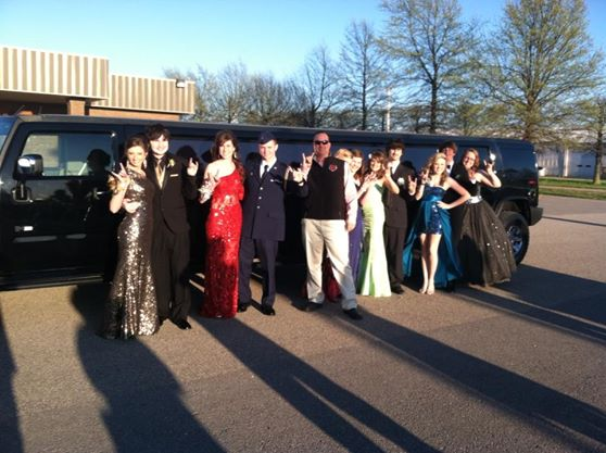[Image: For any dance or party let Crown Limousine usher you to your event in class!]